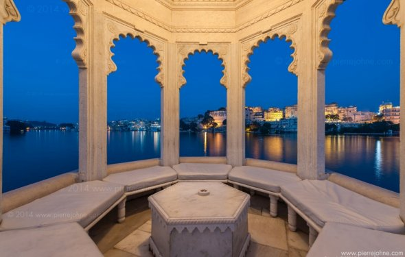 23 Taj Lake Palace Hotel