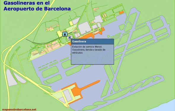 Barcelona Airport Map Fares of