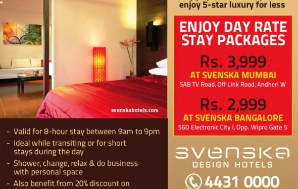 Day Use Stay Packages at