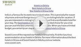 Star Hotels in Orissa India,Orissa Tour Packages