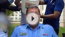 The Novotel Hyderabad Airport Ice Bucket Challenge